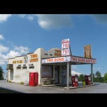 N Route 66 Series:  TWO GUNS GAS 'N GO