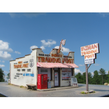 N Route 66 Series:  INDIAN TRADING POST