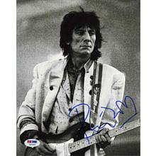 Ronnie Wood Rolling Stones Signed 8x10 Photo Certified Authentic PSA/DNA COA