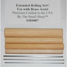Extended Dowel Rolling Set for use with Deluxe Brass Assist