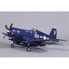 F4U, V2, Blue, PNP, 800mm