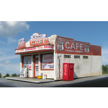 Z Scale Route 66: Desert Cafe