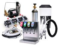 4-Flavor Tower Soda Fountain System w/ Remote Chiller (L3400)