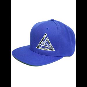 Camo Snapback (Royal Blue)
