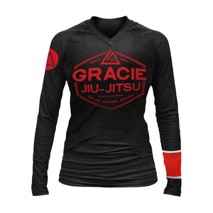 Black Rank Long-Sleeve Rashguard (Women)