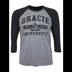 Gracie University Raglan