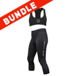 Women's Capri & Sports Bra Bundle