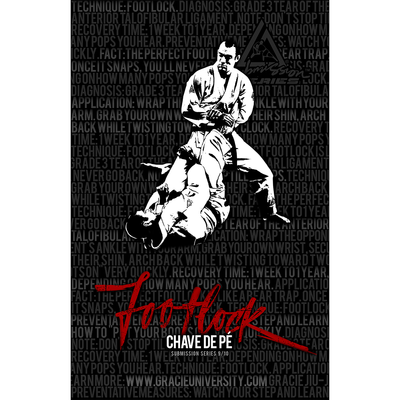 """Foot Lock: Submission Series 9/10 Poster (11x17"""")"""