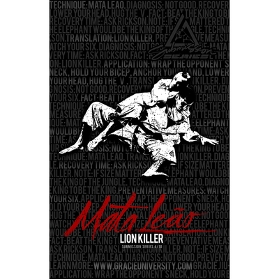 "Mata Leao: Submission Series 4/10 Poster (11x17"")"