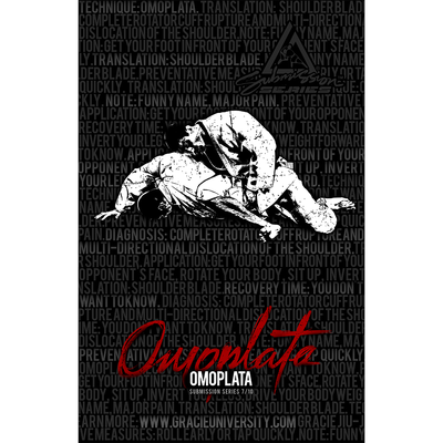 "Omoplata: Submission Series 7/10 Poster (11x17"")"