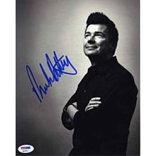 Rick Astley Signed 8x10 Photo Certified Authentic PSA/DNA COA
