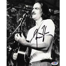 James Taylor Young Great Signed 8x10 Photo Certified Authentic PSA/DNA COA
