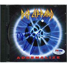 Joe Elliott Def Leppard Signed CD Certified Authentic PSA/DNA COA