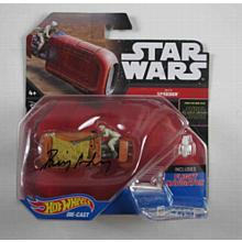 Daisy Ridley Star Wars Force Awakens Signed Rey's Speeder Toy Certified Authentic PSA/DNA COA
