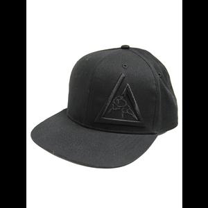 3-D Embroidered Snapback Hat (Black)