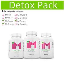 Detox Pack: 1 IM Detox / 1 IM Omega 3 / 1 IM Colon
