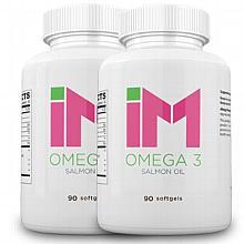 IM Omega 3 - Salmon Oil - 2 Bottles