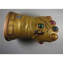 Guardians of the Galaxy Infinity Gauntlet Glove Stan Lee + Josh Brolin SDCC Signed Certified Authentic PSA/DNA COA