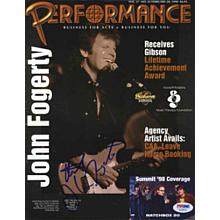 John Fogerty Signed Magazine Certified Authentic PSA/DNA COA