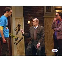 Bob Newhart Big Bang Theory Signed 8x10 Photo Certified Authentic PSA/DNA COA