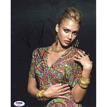 Jessica Alba Sultry Signed 8x10 Photo Certified Authentic PSA/DNA COA