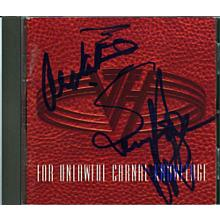 Van Halen Group Signed CD Certified Authentic Beckett BAS COA