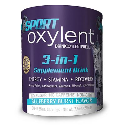 Vitalah Oxylent Sport, Blueberry Burst, 7.8 oz, 30-Serving Canister
