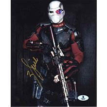 Will Smith Suicide Squad Signed 8x10 Photo Certified Authentic Beckett BAS COA