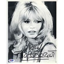 Brigitte Bardot Signed 8x10 Photo Certified Authentic PSA/DNA COA