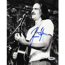 James Taylor Young Cool Signed 8x10 Photo Certified Authentic PSA/DNA COA