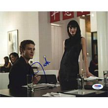 Justin Timberlake The Social Network Signed 8x10 Photo Certified Authentic PSA/DNA COA