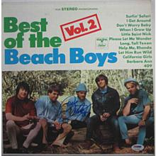 Mike Love Beach Boys Signed Record Album LP Certified Authentic PSA/DNA COA