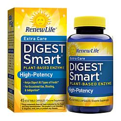Renew Life Digest Smart Extra Care, 45 Capsules