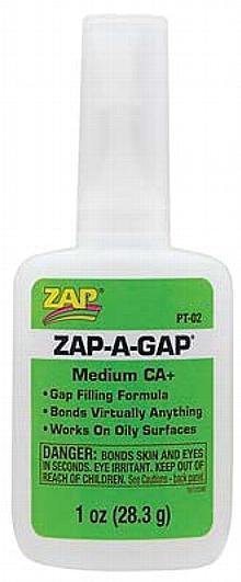 Zap A Gap CA+ Glue, 1 oz