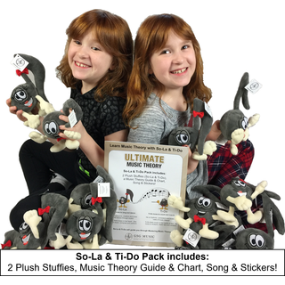 So-La & Ti-Do Stuffies Pack