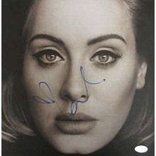 Adele Signed Record Album LP Certified Authentic PSA/DNA COA