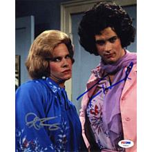 Bosom Buddies Cast Hanks + Scolari Signed 8x10 Photo Certified Authentic PSA/DNA COA