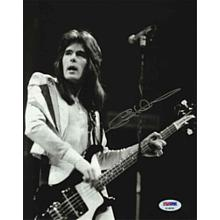 Cliff Williams AC/DC acdc Signed 8x10 Photo Certified Authentic PSA/DNA COA