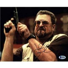 John Goodman The Big Lebowski Signed 8x10 Photo Certified Authentic Beckett BAS COA