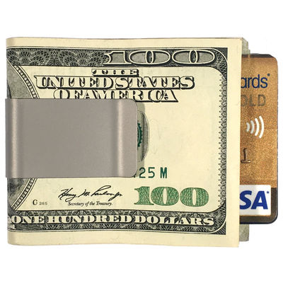 The HIPPIE™ Titanium Money Clip