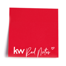 KW Red Notes - Note Pads (packs of 20 pads)