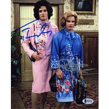 Bosom Buddies Cast Hanks and Scolari Signed 8x10 Photo Certified Authentic Beckett BAS COA