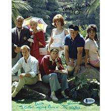 Gilligan's Island Tina Louise and Dawn Wells Signed 8x10 Photo Certified Authentic Beckett BAS COA