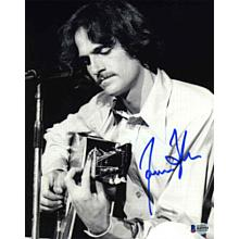 James Taylor Younger Signed 8x10 Photo Certified Authentic Beckett BAS COA