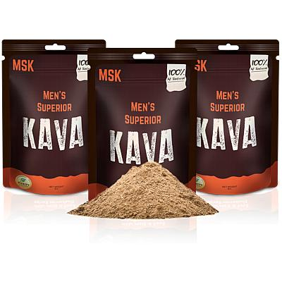 3 Pack of Men's Superior Kava