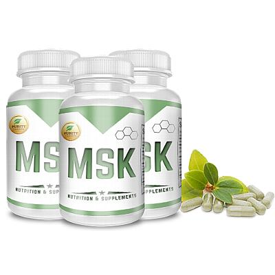 MSK Stamina Fuel - 3 pack