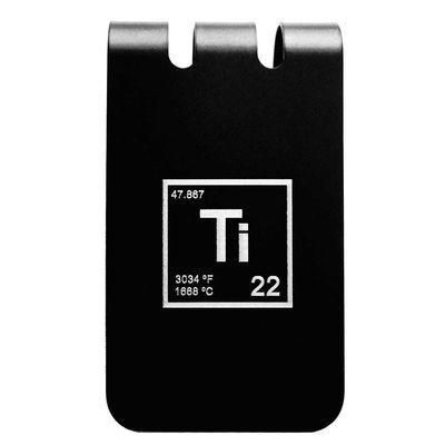 Set of Two (2) Titanium Dog Tags