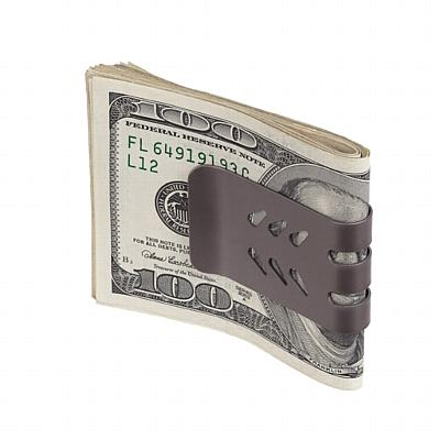 The mini-VIPER™ Titanium Money Clip - Natural Finish
