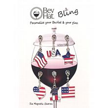 BevHat Bling Patriot Charm Collection (6 Charms)