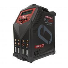 Pro Quad 100W 7A 4-Port AC/DC Battery Charger